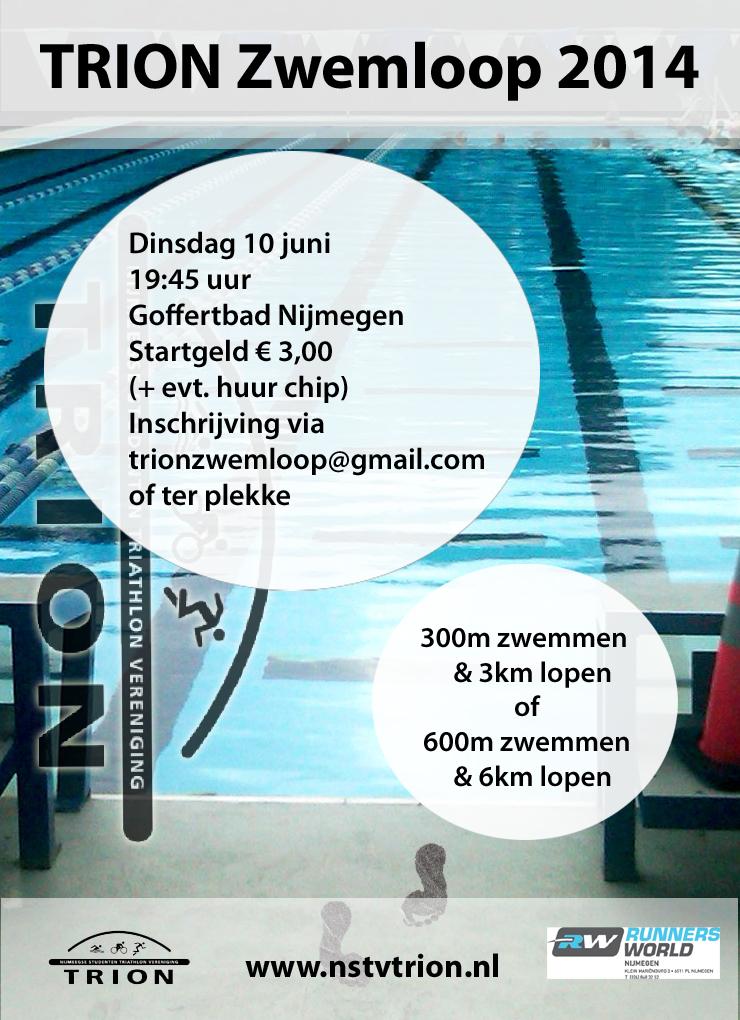 Zwemloop 2014 - flyer